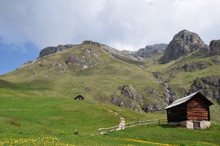Peitlerkofel (2875 m) aus dem Campilltal