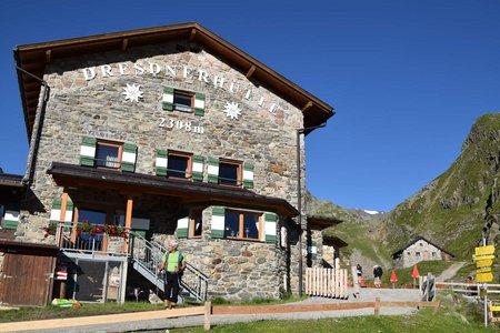 Tag 4: Neue Regensburger Hütte - Dresdnerhütte