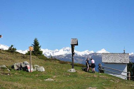 Astjoch-Campillberg  (2194/2190 m) vom Parkplatz Schwaiger Böden