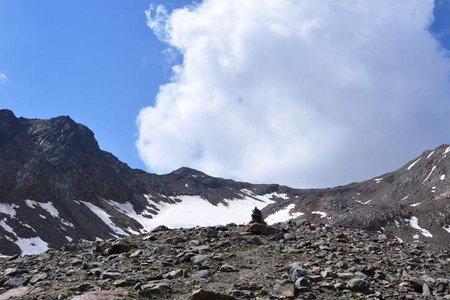 Mittlere Guslarspitze (3128 m) Überquerung von Vent