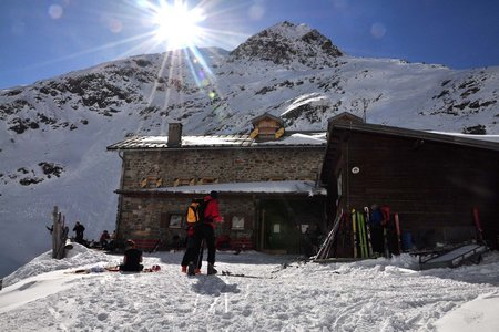 Amberger Hütte (2135 m) über die Daunscharte