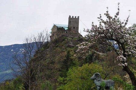 Schloss Juval und Schnalser Waalweg