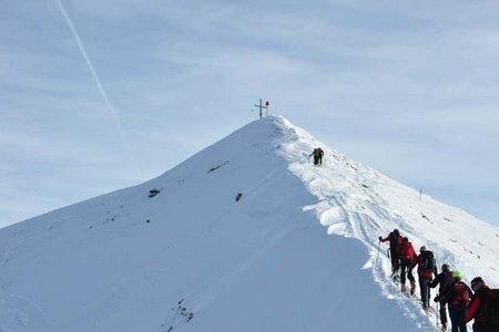 Naviser Kreuzjöchl (2536 m) von Navis