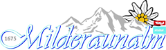 Logo Milderaunalm, 1671 m - Stubaital