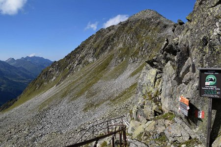 Schüttalkopf (2774 m) von Kasern