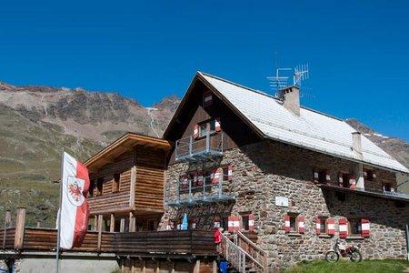 Langtalereckhütte, 2480 m - Obergurgl