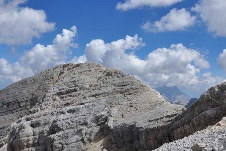 Lavarella (3055 m) aus dem Gadertal