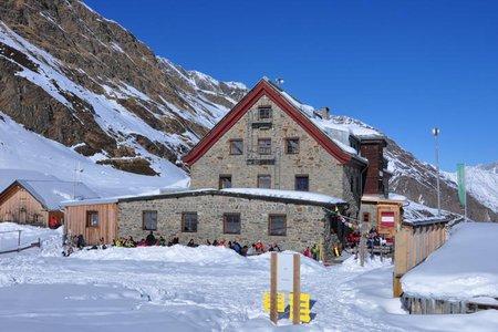 Franz Senn Hütte (2147 m) von Seduck