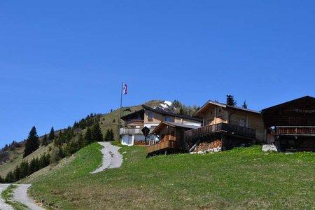 Bernhardseck Hütte (1812 m) von Elbigenalp