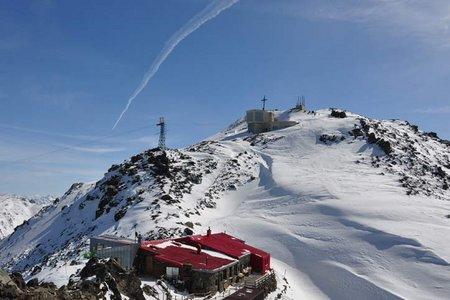 """Glungezer/Sonnenspitze """"Route Classic"""" (2677/2639 m) von Tulfein"""