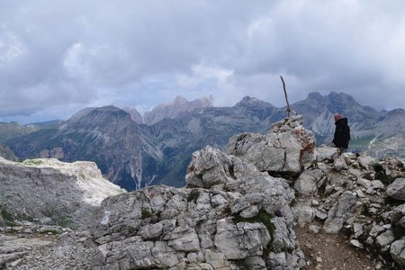 Sas Ciampac (2672 m) von Kolfuschg