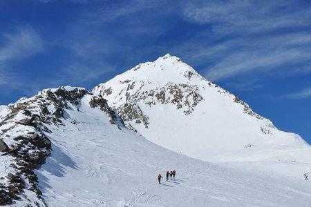 Fineilspitze (3514 m) von der Martin Busch Hütte