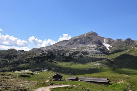 Monte Selle de Sennes (2787 m) von der Fodara Vedla