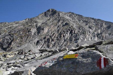 Säuleck (3086 m) vom Parkplatz Dösner Tal