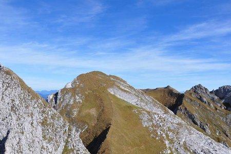 Spieljoch-Seekarlspitze (2236/2261 m) von der Erfurter Hütte