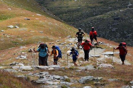Outdoor-Equipment auf der Trekkingtour