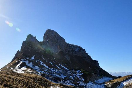 Haidachstellwand (2192 m) von der Erfurter Hütte