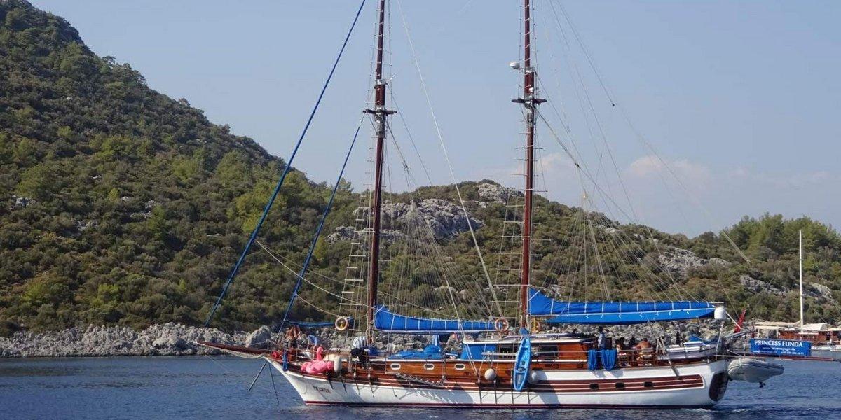 Unterwegs mit einem Segelboot