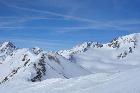 Weißkugel (3739 m) von der Schönen Aussicht