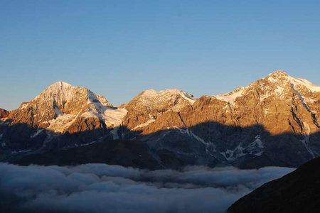 Kleiner Angelus (3318 m) vom Kanzellift