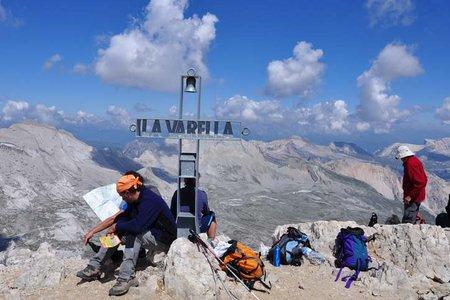 Lavarella - Überschreitung (3055 m) von der Lavarellahütte
