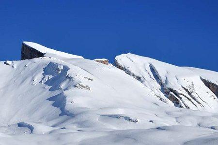 Kleiner Seekofel (2750 m) von der Senneshütte