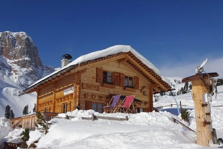 Rossalm (2164 m) vom Alpengasthof Brückele