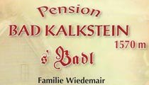 Logo Pension Bad Kalkstein - Innervillgraten