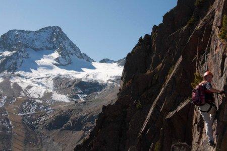 Klettersteig Fernau am Stubaier Gletscher