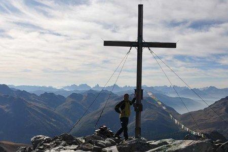 Seespitze (3021 m) von der Jagastube