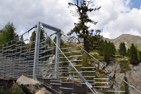Zufallhütte-Hängebrücke Rundwanderung