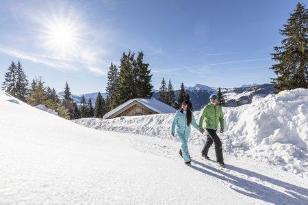 Gemütlich Winterwandern und die Natur in der Wildschönau erleben