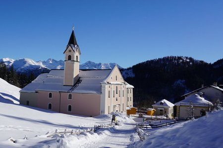 Winterwanderweg Maria Waldrast