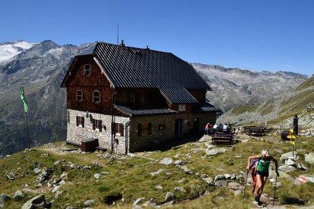 Kattowitzer Hütte (2320 m) vom Kölnbreinspeicher