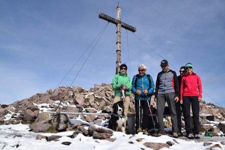 Große Laugenspitze (2434 m) vom Gampenpass