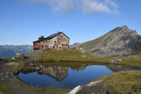 Sudetendeutsche Hütte (2650 m) von Glanz