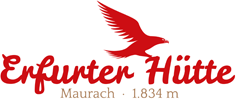 Logo Erfurter Hütte, 1831 m - Rofan