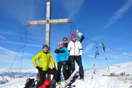 Pareispitze (2794 m) von der Lavarellahütte