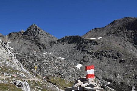 Kreuzspitze (3155 m) von der Johannishütte