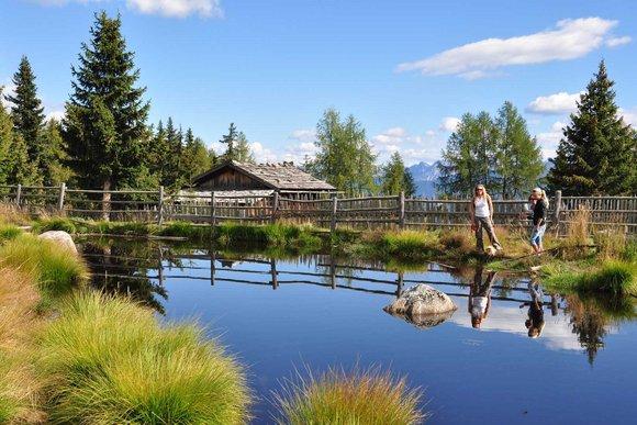 Terenten/Pfalzen - Wandern an der Sonnenstraße in den Pfunderer Bergen