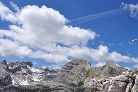 Limospitze (2562 m) von der Lavarellahütte
