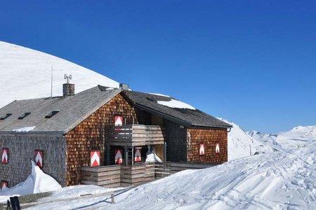 Glorer Hütte (2651 m) vom Lucknerhaus