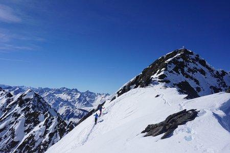 Hochreichkopf (3010m) von der Dortmunder Hütte