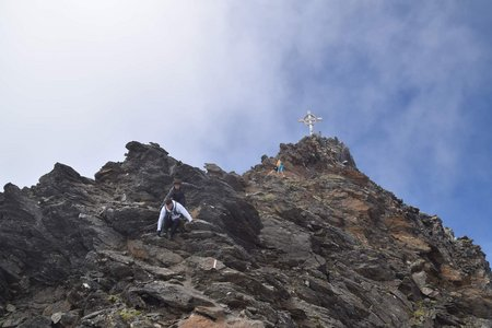 Hinterer Seelenkogel (3489 m) von Pfelders