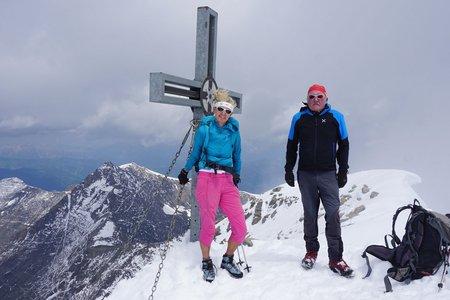 Großes Wiesbachhorn (3564m) vom Stausee Mooserboden
