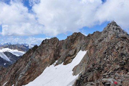 Wilder Freiger (3418 m) von der Dresdner Hütte