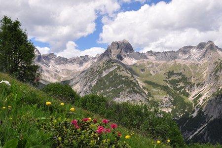 Panoramaweg-Wanderung zur Bernhardseckhütte