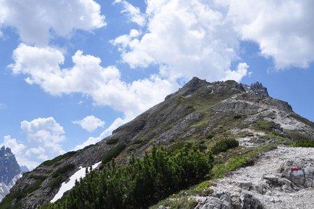 Elferspitze (Nördlicher Elferturm-2495 m) von der Elfer Bergstation