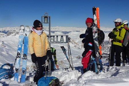 Lavarella (3055 m) von der Faneshütte