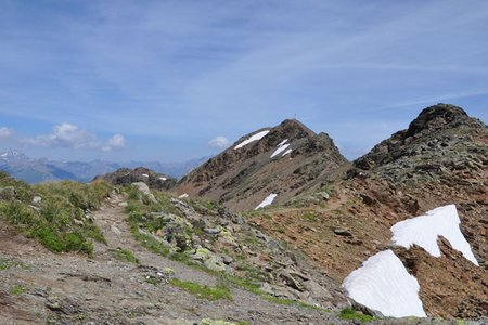 Piz Rasass (2941 m) von Schlinig